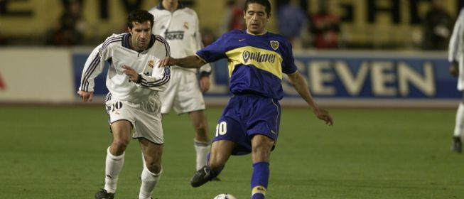 Riquelme contra Madrid en Copa Intercontinental