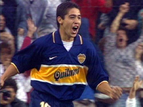 Debut de Riquelme en Boca Juniors