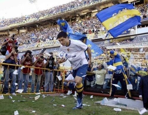 Riquelme vuelve a Boca Juniors en 2007