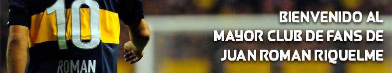 Bienvenido al mayor club de fans de Juan Román Riquelme