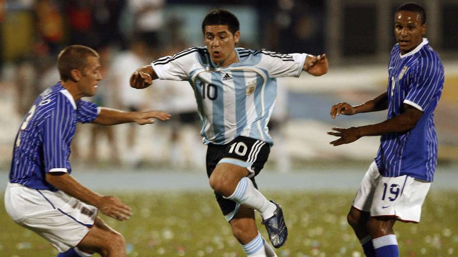 Riquelme en Copa América 2007