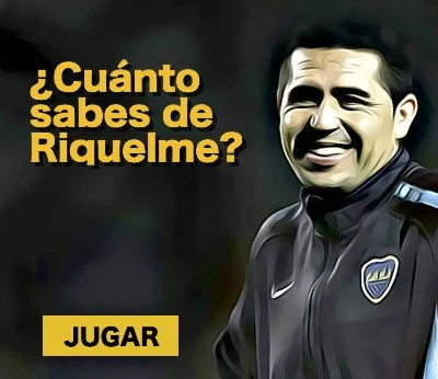 ¿Cuánto sabes de Riquelme?