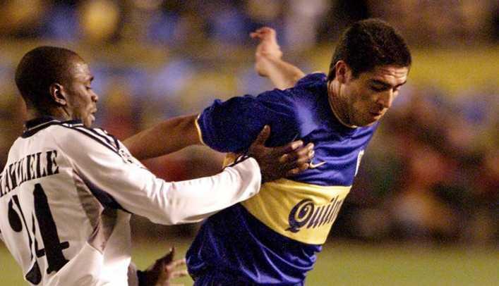 A 18 años del baile de Juan Román Riquelme al Real Madrid