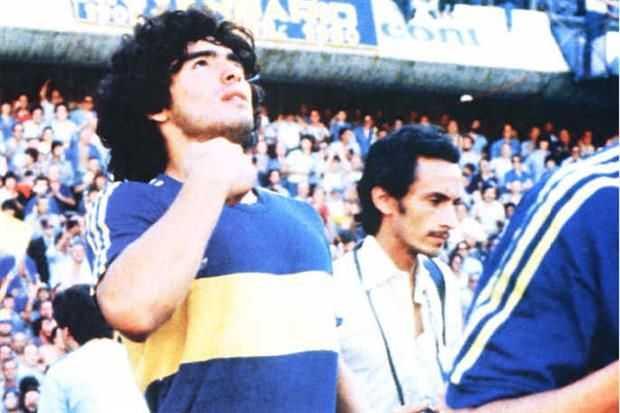 A 36 años del debut de Diego Maradona en Boca