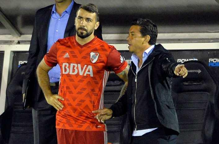 A Gallardo no le gustó nada lo que Pratto dijo de Boca