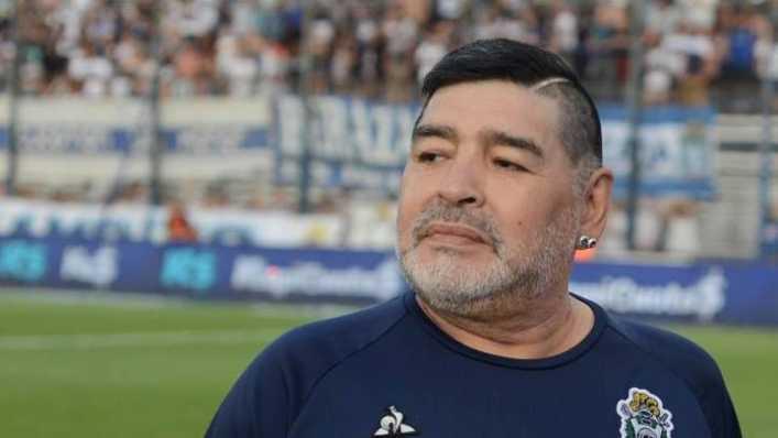 A Maradona lo mataron