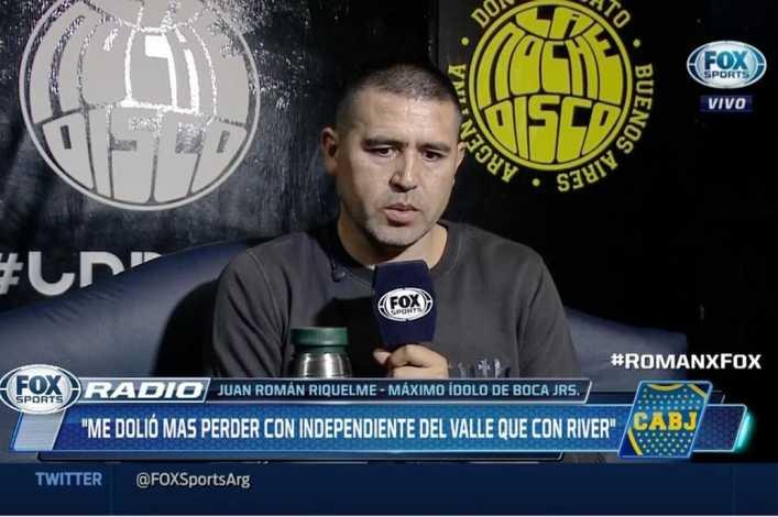 A quién eligió Riquelme como figura de la Superfinal entre River y Boca