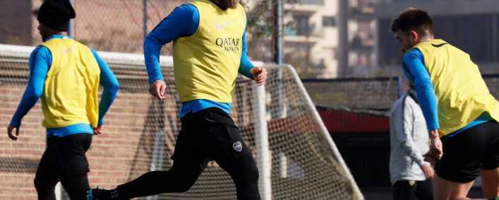 Alfaro inicia la semana con el posible 11 de la Copa