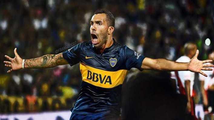 FOTO: La amenaza que recibió Tevez: armas, balas e insultos