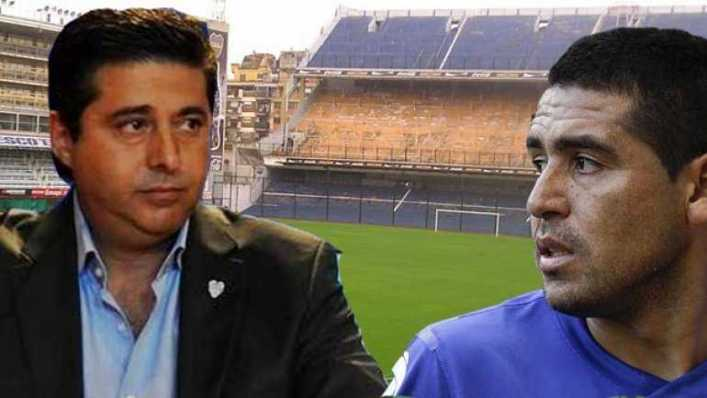 Angelici contó por qué Riquelme lo acusa de no ser hincha de Boca