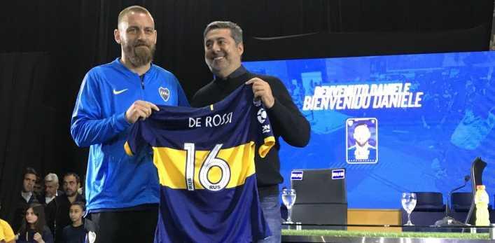 Angelici: del futuro de De Rossi a Riquelme