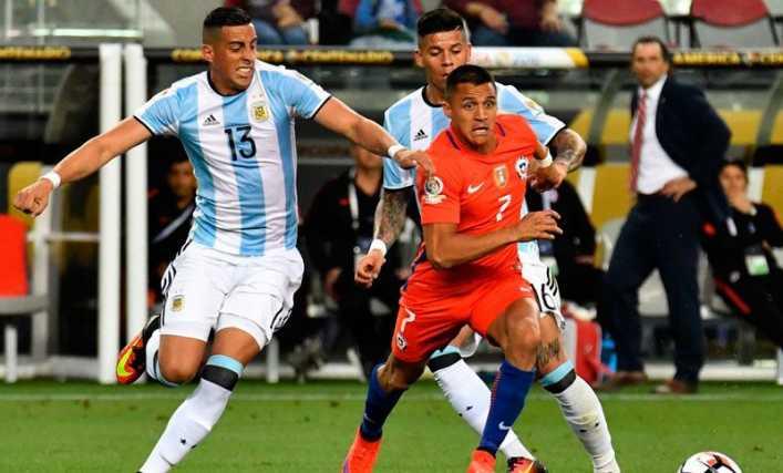 Argentina-Chile, por la Copa América 2016