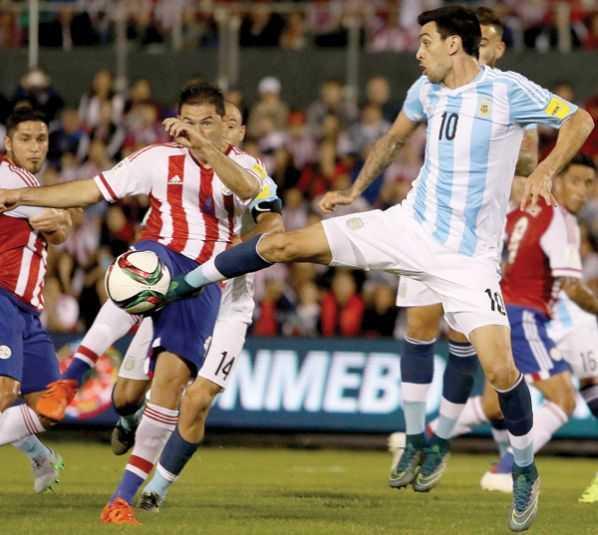 Argentina choca con el muro paraguayo