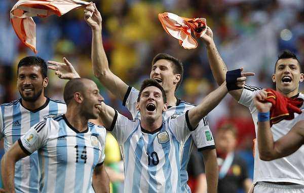 """""""Ohhh, Argentina, es un sentimiento...."""""""