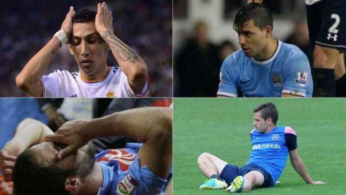 """Argentina, a días del Mundial: una selección de estrellas """"tocadas"""""""