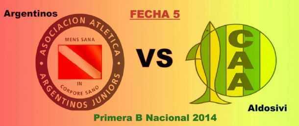 Argentinos Juniors le ganó 1-0 a Aldosivi