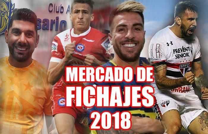 Así está el mercado de pases 2018 del fútbol argentino