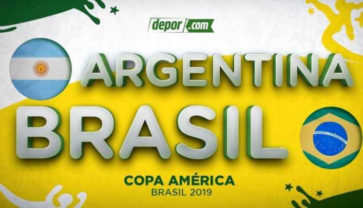 Así formarían Argentina y Brasil por la semifinal de Copa América