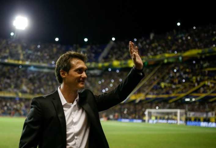 VIDEO: Así fue recibido Barros Schelotto por hinchas de Boca Juniors