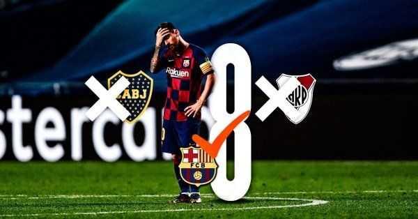 Barcelona y una goleada que no sufrieron Boca ni River