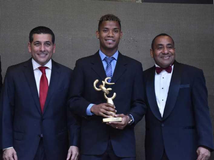 Barrios escogido como el Deportista del Año para Bolívar 2017