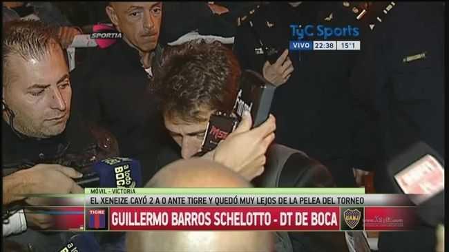 """VIDEO: Barros Schelotto: """"Nos faltó rebeldía para darlo vuelta"""""""