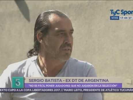 """VIDEO: Batista: """"Sufrí llevar a Tevez a la Copa América 2011"""""""