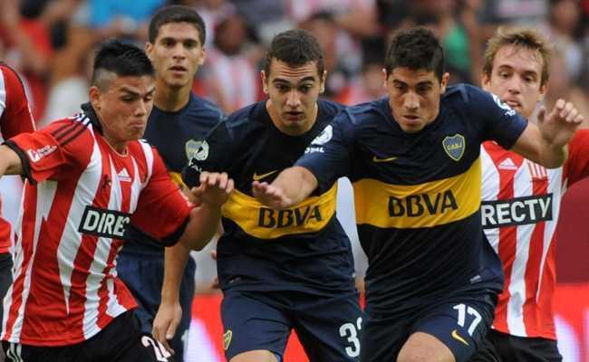 Boca 3-0 Estudiantes: 2 minutos bastan