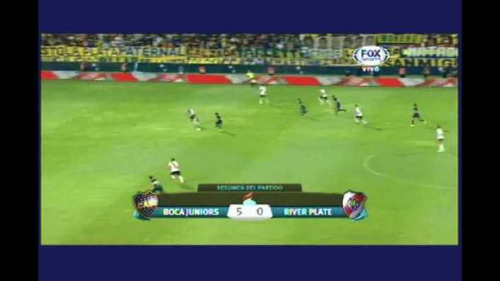 VIDEO: Boca 5 - 0 River - Torneo de Verano 2015