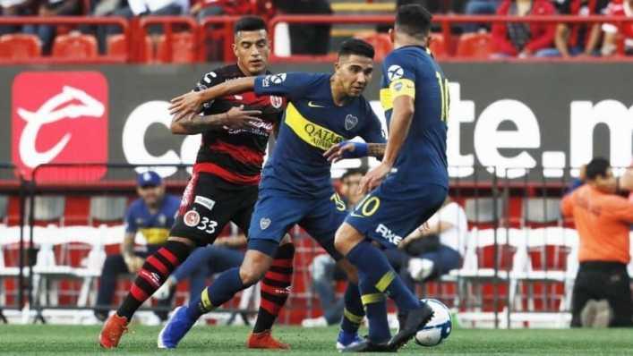 Boca cayó ante Tijuana en su último amistoso en Norteamérica