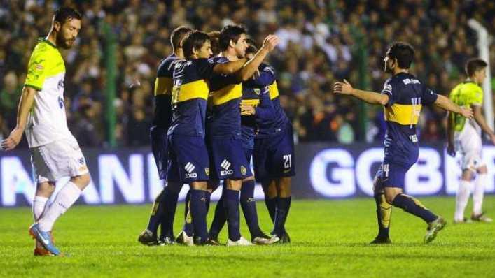 VIDEO: Boca derrotó a Sarmiento y es el único líder del campeonato