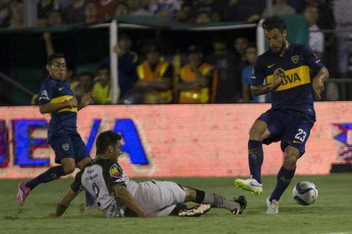 Boca desperdició la chance de alcanzar la cima: igualó ante San Martín de San Juan