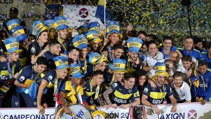 Boca, el mejor del fútbol argentino en los últimos diez años