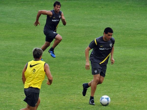 Boca está feliz: Riquelme hizo fútbol y será titular el jueves, en Salta