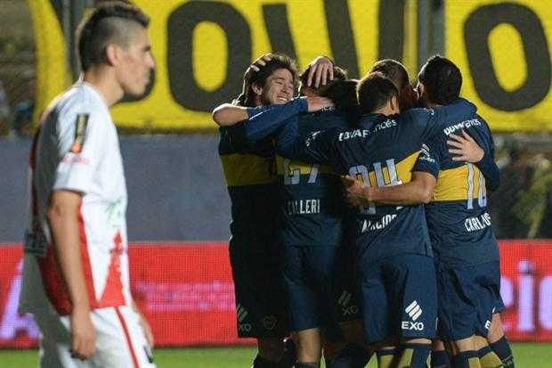 boca goleo a guarani antonio franco por 4 0 y avanza copa argentina