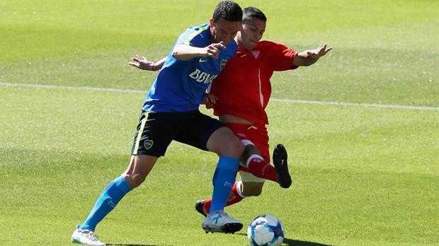 Boca igualó con Los Andes en un amistoso jugado en La Bombonera