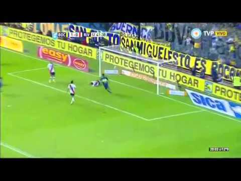 VIDEO: Boca Juniors 2 - 0 River - Fecha 11 Torneo Argentino 2015