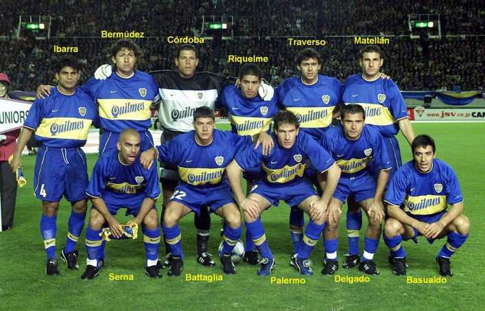 VIDEO: Boca Juniors 2000 - Riquelme, Palermo, Córdoba, Delgado y Schelotto