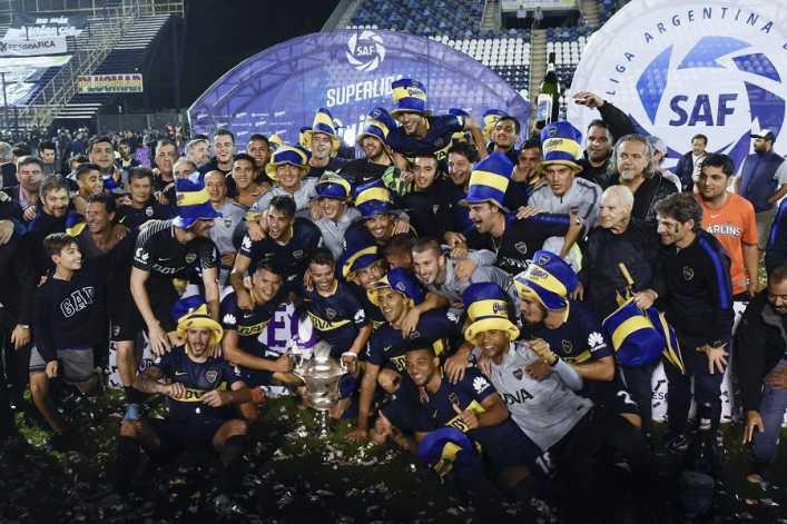 Boca Juniors, bicampeón en Argentina