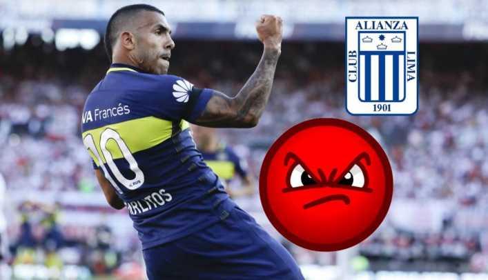 Boca Juniors denuncia a Alianza