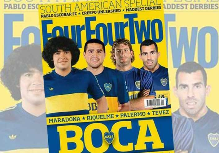 "Boca Juniors es la tapa de ""la biblia del fútbol"""