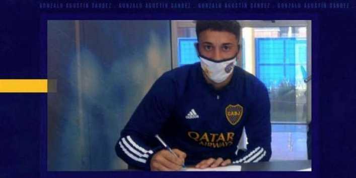 Boca Juniors hace profesional al prometedor Agustín Sandez