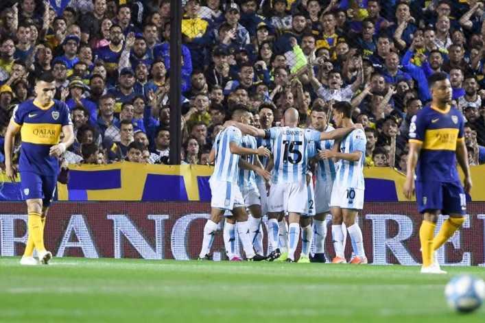 Boca Juniors perdió el invicto ante Racing Club, pero sigue puntero