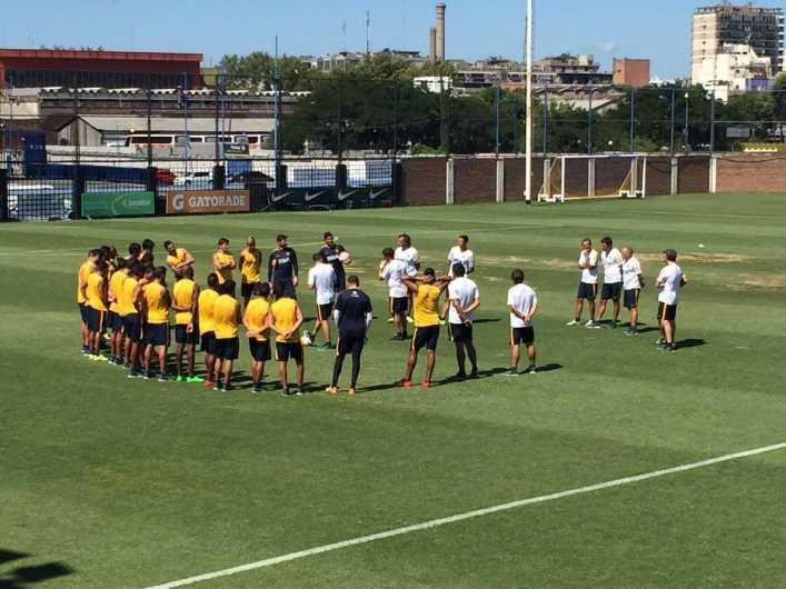 Boca Juniors se entrenó de cara al debut en la Copa Libertadores
