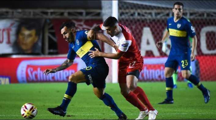 Boca Juniors vs Argentinos por la Copa de la Superliga