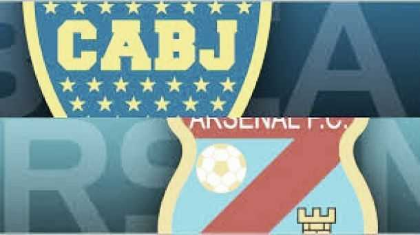 BOCA JUNIORS VS ARSENAL SE MIDEN POR LA SUPERLIGA ARGENTINA
