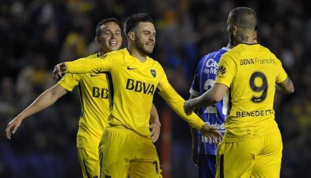 boca juniors vs velez por la superliga argentina
