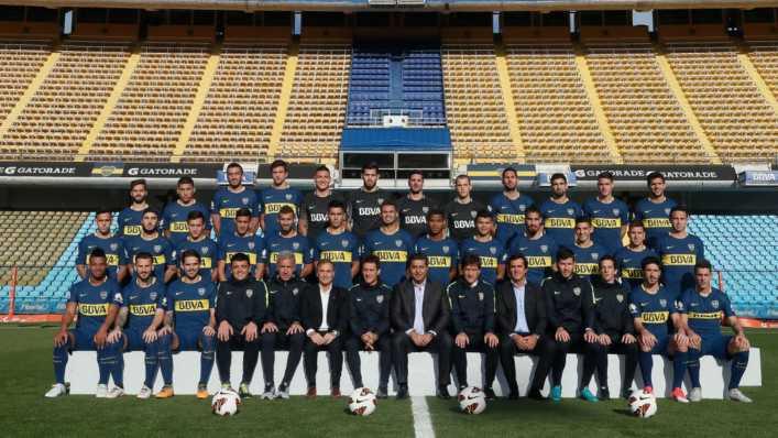 Boca Juniors y el plantel para el año próximo