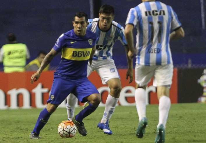 Boca Juniors y Racing empatan sin goles