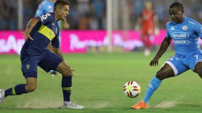 Boca no mantuvo el ritmo y Belgrano se lo empató al final